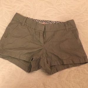 J.Crew grey shorts